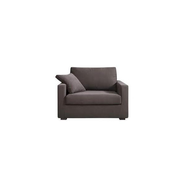 Canapé / fauteuil XL Osman 125 cm  HOME SPIRIT