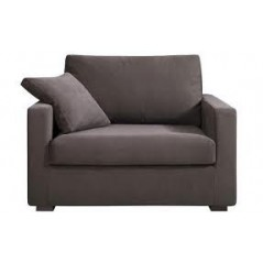 Canapé / fauteuil XL Osman 125 cm convertible HOME SPIRIT