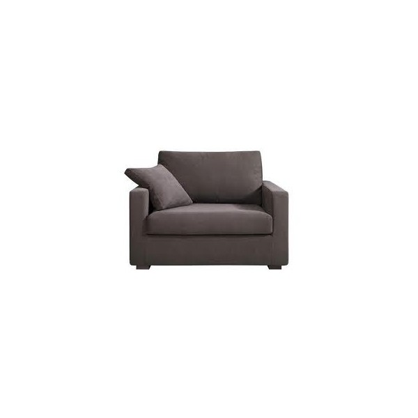 Canapé / fauteuil XL Osman 125 cm convertible Grand Confort HOME SPIRIT