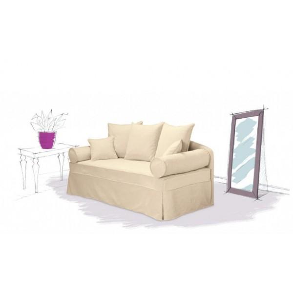 Canapé avec lit gigogne Casablanca 196cm HOME SPIRIT