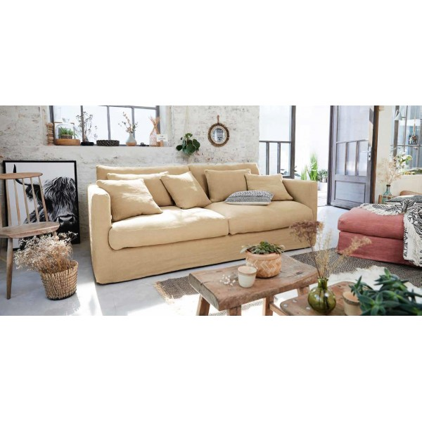 Canapé  HOME SPIRIT Nomad 3 places 190 cm  fixe ou convertible couchage occasionnel