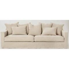 Canapé HOME SPIRIT Bondues 3 places 206 cm  fixe ou convertible occasionnel