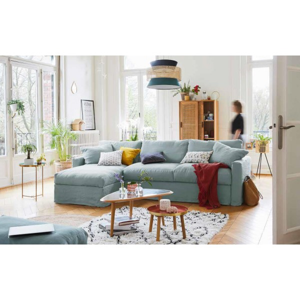 Canapé d'angle HOME SPIRIT Bidart 270 cm
