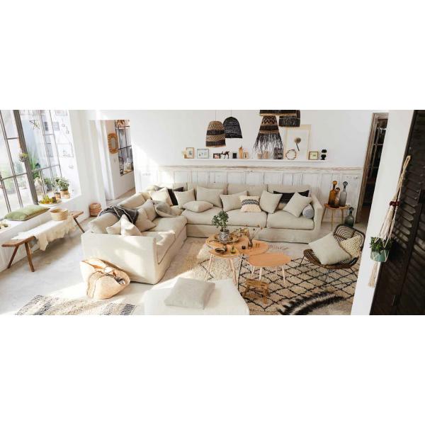 Canapé  d'angle HOME SPIRIT Nomad Sur Mesure, fixe ou convertible